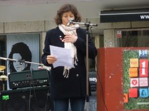 Eva Kronwall talar första maj 2010